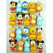 20 pcs Mickey Minnie Mouse Donald Duck Jewelry Making Figure Pendant Charms