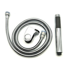Bathroom Handheld Shower Head with Extra Long Hose and ABS Bracket Holder