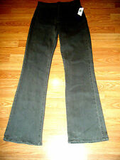 NWT NYDJ TUMMY TUCK STRETCH CHARCOAL DENIM BOOTCUT JEANS Size 4