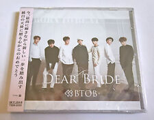 BTOB Dear Bride Japan Press CD Type B with Random Photocard Sealed K-Pop