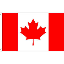 Canada Large Flag 8ft x 5ft Canadian Country Banner With 2 Metal Eyelets
