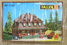 FALLER B-369 HO SCALE GARDEN CITY SEMI DETACHED HOUSE MODEL RAILWAY LAYOUT ni