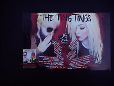 The Ting Tings Sounds from Nowheresville original in store promo poster!!!