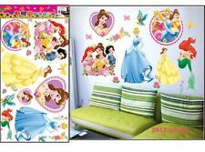 Disney Princess Wall Sticker Snow White Nursery Kids Room Decal Halloween Gift
