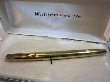 *WATERMAN'S C/F* ROLLED GOLD - FOUNTAIN PEN -PENNA STILOGRAFICA -WITH BOX
