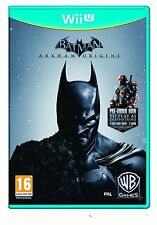 Wii u batman arkham origins Legends pm EDT. + Deathstroke & 4 skins DLC 's wiiu NEUF
