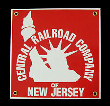 Central Railroad of New Jersey Porcelain Sign #57-1120