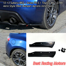 A-Style Rear Aprons (Urethane) Fits 12-16 Scion FR-S
