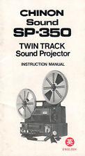 Chinon Sound sp-350 - Manuale di istruzioni b1883