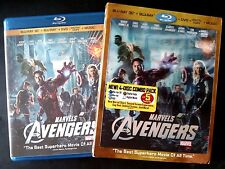 Marvel's The Avengers 3D (4-Disc Blu-ray/DVD) with OOP Lenticular Slipcover!