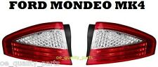 FORD MONDEO MK4 MKIV SALOON 2007 - 2010 LEFT + RIGHT REAR TAIL LIGHT LIGHTS LAMP
