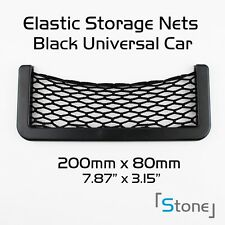 Pair of Car Elastic Black Cargo Storage Organizer Net Accessory For Toyota