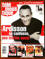 Télé Moustique du 5/10/2005; Interview Ardisson/ MAlisse/ I Muvrini/ Prostitutio
