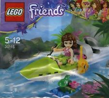 New LEGO Friends Olivia Jungle Boat with Frog Minifigure 30115 Promo Polybag