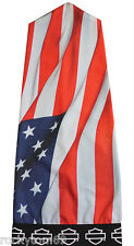 SP03884 - Harley-Davidson® Mens B&S with US Flag Sublimated Polyester Speed Sock