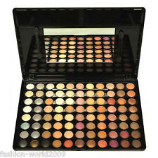 Pro 88 Full Warm Colors Nude Neutral Eye Shadow Eyeshadow Makeup Palette Brush