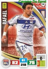 158 RAFAEL BRAZIL OLYMPIQUE LYONNAIS CARD ADRENALYN LIGUE 1 2017 PANINI