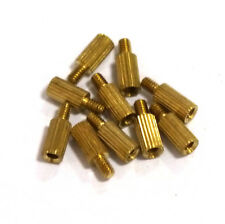 20 pcs 6mm Threaded M2 Brass Male-Female Standoff Spacer with nut Hot Sale
