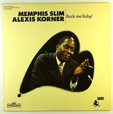 """12"""" LP - Memphis Slim - Rock Me Baby! - #L7565 - washed & cleaned"""
