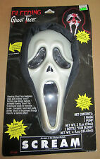 SCREAM BLEEDING GHOST FACE Mask W/ Fake Blood & Pump NEW NIP