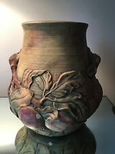 Weller Pottery Flemish Woodcraft Baldwin Apple LARGE  Branches Leafs MUST SEE!