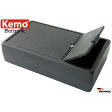 Kunststoffgehäuse ca. 102 x 61 x 26 mm mit Fach für 9 V/DC Battery
