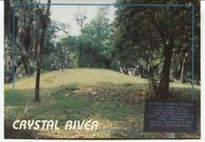 Alte Postkarte - Crystal River - Indian Temple Mound