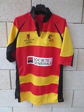 Maillot rugby BEIJING DEVILS mini porté n°46 CHINE PEKIN match worn shirt 180