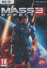 MASS EFFECT 3 EA Bioware Space Shooter PC Game RPG Windows XP, Vista, 7 -NEW DVD