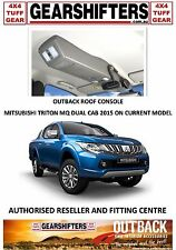 OUTBACK ACCESSORIES ROOF CONSOLES, MITSUBISHI TRITON MQ DUAL CAB CURRENT MODEL