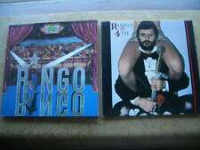 Ringo Starr 2 Vintage LP Record Lot-Ringo Self-Titled with Insert, Ringo the 4th