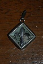 JEWEL KADE Charm - Pewter Fleur De Lis - RETIRED