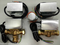 ACTUATOR HEADS & MOTORISED ZONE VALVES 2 or 3 PORT 22mm 28mm REPLACES HONEYWELL
