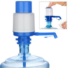 Manual Bottled Drinking Water Hand Press Pump 5-6 Gal W/ Dispenser Home Office