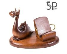Wood decor carved iPhone 5 4S 4 3GS *Dragon* table stand for mobile phone