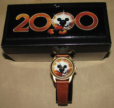 Disney Fossil Indigo Mickey Mouse 2000 DS1269 Watch Disney Fossil, USC#790