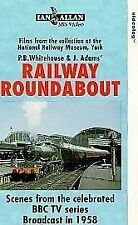 Railway Roundabout 1958 (VHS) ~ Steam Railway VHS Video Tape ~ Ian Allan ~ NRM