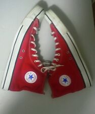 Vintage USA-MADE Classic Red HI Top Converse All Star Chuck Taylor shoes sz16,