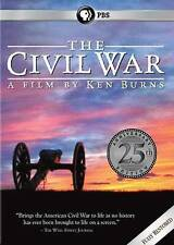 The Civil War: A Film Directed By Ken Burns (DVD, 2015, 25th Anniversary)
