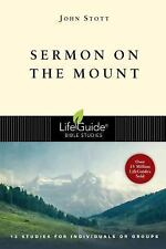 LifeGuide® Bible Studies: Sermon on the Mount by John Stott (2000, Paperback,...