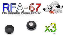 3 PILES COMPATIBLE PetSafe RFA-67 6V LITHIUM BATTERIES COLLIER - QUALITÉ EXPERT