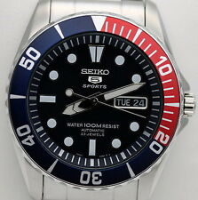 Seiko Automatikuhr 23 Schmuckstücke Herren Damen Armbanduhr Snzf15k1
