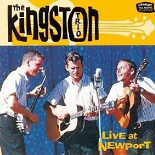 THE KINGSTON TRIO - LIVE AT NEWPORT  CD NEU