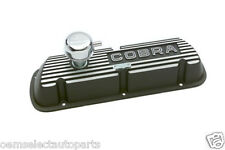 OEM NEW Ford Racing Black Satin Valve Cover M6582F302 Mustang Cobra Shelby 302