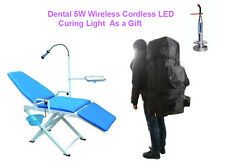 New Updated Version Portable Dental Chair GU-P109A-2 (New Version) with Backpack