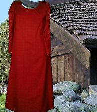 Medieval SCA Garb Renaissance Kirtle Gown COLOR CHOICE Cotton Norse L XL