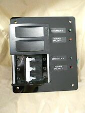 Blue Sea Source Selector Switch circuit breaker panel 50A by AC DC Marine Inc.
