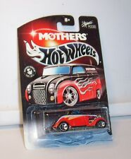 HOT WHEELS MOTHERS WAX LIL BIT FOOSED MOM'S PRO 3 WINDOW '34 MINT ON CARD