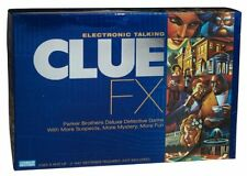 Electronic Talking Clue FX board game with action figures for ages 8 and up