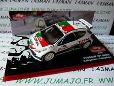 voiture 1/43 IXO Rallye MONTE CARLO : PEUGEOT 207 S2000  2010 Magalhaes